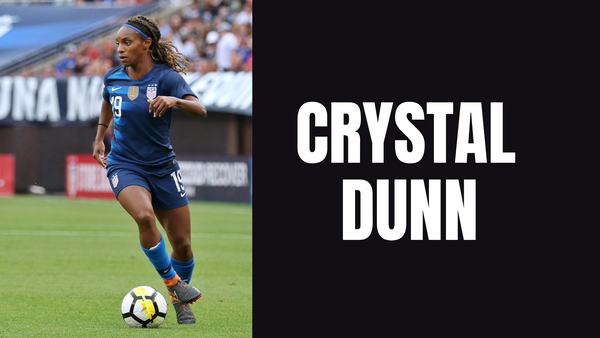 Crystal Dunn wants 2021 to be the year of Black women in soccer